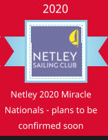 Ribbon Panel Netley 2020 Miracle Nationals - plans to be confirmed soon 2020